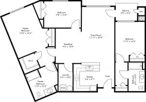 3 Bed / 2 Bath / 1,531 sq ft / Rent: Please Call